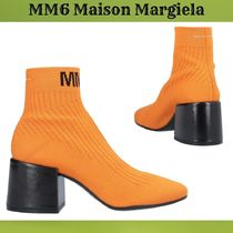 MM6 Maison Margiela Plain High Heel Boots