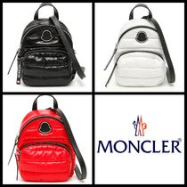 MONCLER Casual Style Unisex Nylon Street Style 2WAY Plain Backpacks