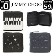 Jimmy Choo Calfskin Folding Wallets