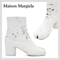 Maison Martin Margiela Tabi Square Toe Leather Ankle & Booties Boots
