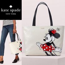 kate spade new york Casual Style Canvas Collaboration Oversized Totes