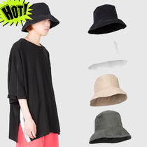 Raucohouse Unisex Street Style Bucket Hats Wide-brimmed Hats