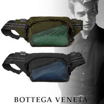 BOTTEGA VENETA Street Style Plain Leather Messenger & Shoulder Bags