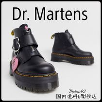 Dr Martens Heart Casual Style Street Style Plain Ankle & Booties Boots