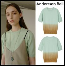 ANDERSSON BELL Street Style Short Sleeves T-Shirts