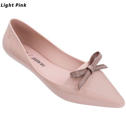 Collaboration Plain Pointed Toe Shoes