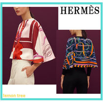 HERMES Short Ponchos & Capes