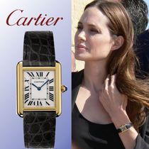 Cartier TANK Metal Square Analog Watches