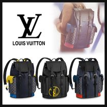 Louis Vuitton BUMBAG Monogram A4 Leather Backpacks