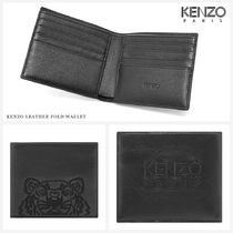 KENZO Blended Fabrics Street Style Other Animal Patterns Leather