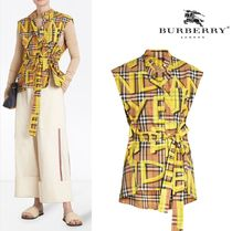 Burberry Other Check Patterns Shirts & Blouses