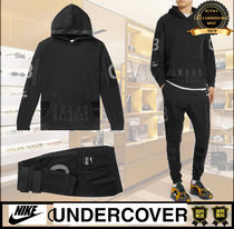 UNDERCOVER Unisex Street Style Collaboration Top-bottom sets