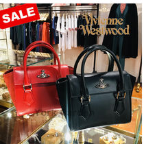 Vivienne Westwood Casual Style 2WAY Leather Shoulder Bags