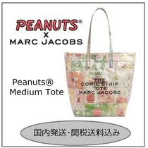 MARC JACOBS Casual Style Collaboration A4 Totes