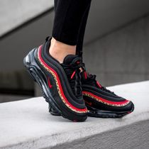 Nike AIR MAX 97 Leopard Patterns Casual Style Unisex Street Style