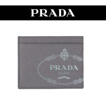 PRADA Calfskin Card Holders