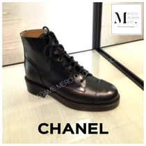 CHANEL Casual Style Plain Shoes