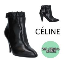 CELINE Plain High Heel Boots