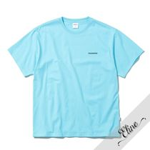 thisisneverthat Crew Neck Pullovers Street Style Cotton Short Sleeves