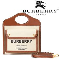 Burberry 2WAY Leather Totes