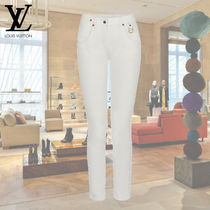 Louis Vuitton Casual Style Cotton Long Skinny Pants
