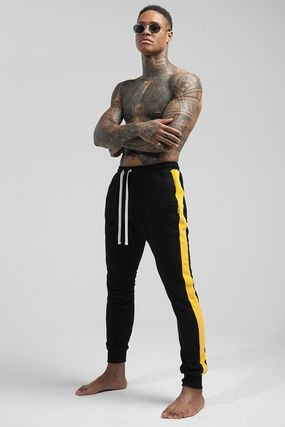 Unisex Blended Fabrics Street Style Activewear Bottoms
