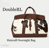 RRL Other Animal Patterns Leather Boston Bags