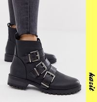 ASOS Casual Style Faux Fur Ankle & Booties Boots