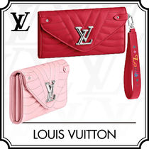 Louis Vuitton Blended Fabrics Leather With Jewels Long Wallets