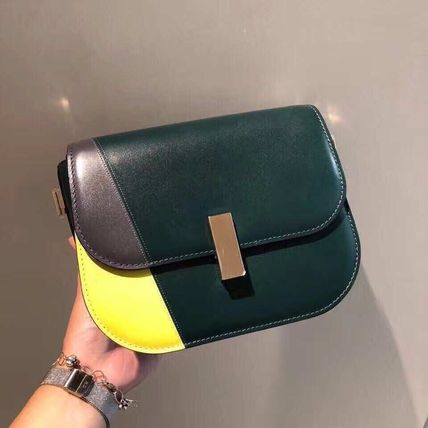 Street Style 2WAY Leather Elegant Style Shoulder Bags