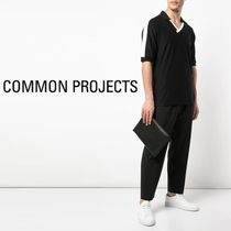 Common Projects Unisex Plain Leather Clutches