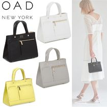 OAD NEW YORK Casual Style 2WAY Bi-color Shoulder Bags