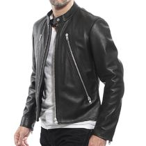 Maison Martin Margiela Leather Biker Jackets