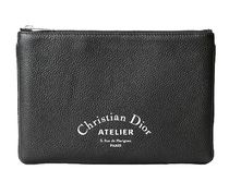 Christian Dior Leather Clutches