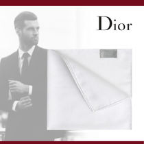 Christian Dior Plain Cotton Handkerchief