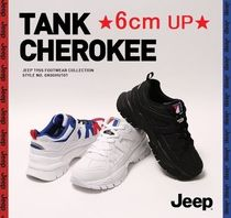 JEEP Unisex Street Style Plain Home Party Ideas Sneakers