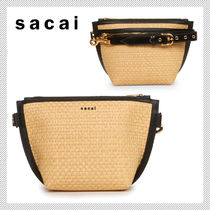 sacai Casual Style 2WAY Clutches
