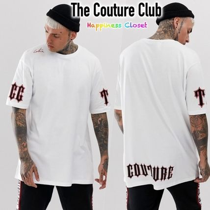 80f2016cb0 ... The Couture Club Crew Neck Crew Neck Street Style Short Sleeves  Oversized ...