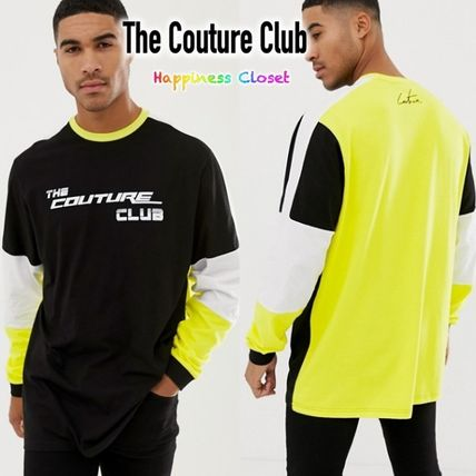 f542bfa1f3 ... The Couture Club Long Sleeve Crew Neck Street Style Long Sleeves Cotton  Oversized ...