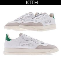 KITH NYC Suede Collaboration Logo Sneakers