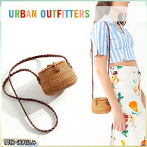 Urban Outfitters Plain Straw Bags