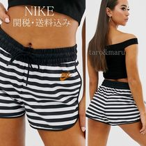Nike Printed Pants Short Stripes Casual Style Street Style Shorts