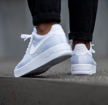 Nike AIR FORCE 1 Street Style Plain Sneakers