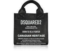 D SQUARED2 Casual Style Unisex Street Style 2WAY Leather Totes