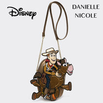 DANIELLE NICOLE Casual Style Collaboration Shoulder Bags