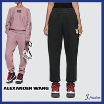 Alexander Wang Sweat Plain Long Sweatpants