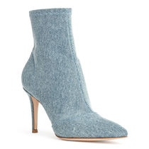 Gianvito Rossi Casual Style Plain Pin Heels Ankle & Booties Boots