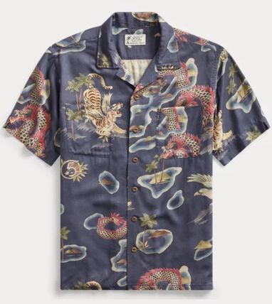 RRL Tropical Patterns Street Style Other Animal Patterns