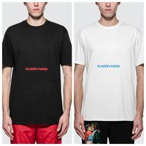 PLACES+FACES Crew Neck Unisex Street Style Short Sleeves Oversized