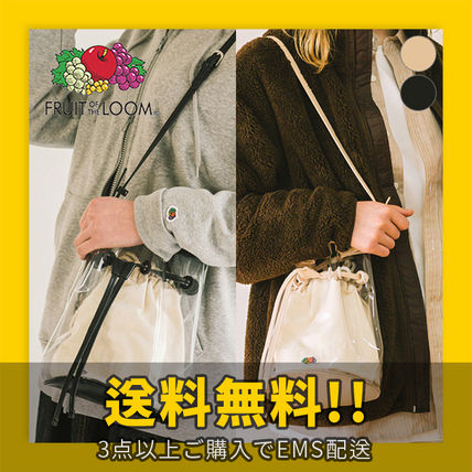 Crystal Clear Bags PVC Clothing Shoulder Bags
